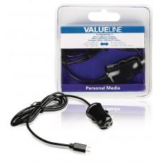 Φορτιστής Αυτοκινήτου Κινητού/Tablet ValueLine VLMB60890B10